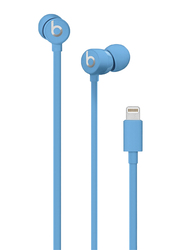 Beats urBeats3 Lightning In-Ear Noise Isolation Earphones with Connector, Blue