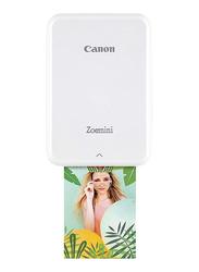 Canon Can Zoemini Photo Printer, White