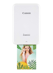 Canon Can Zoemini Photo Printer, White