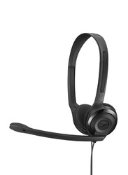 EPOS Wired PC 3 Chat Stereo 2 x 3.5 mm Gaming Headset, Black