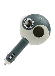 Innobiz Kemlia V2 Portable Scent Aroma Diffuser for Automobile/Vehicle/Car, Dark Green