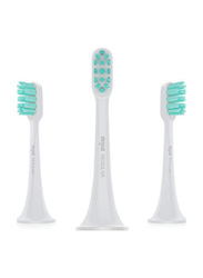 Xiaomi Mi Standard Electric Toothbrush Head, Grey, 3 Pieces