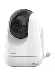 VAVA Baby Monitor with Additional Camera, 5 inch 720p HD Resolution, Stable 2.4GHz Wireless Connection, Scan View, White