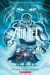 Amulet #6: Escape From Lucien, Paperback Book, By: Kibuishi and Kazu