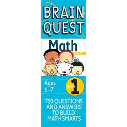 Brain Quest Grade 1 Math, Cards Book, By: Marjorie Martinelli