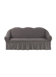 Fabienne Three Seater Sofa Cover, Grey