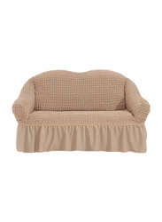 Fabienne Two Seater Sofa Cover, Light Beige