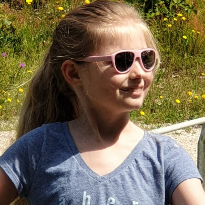 Koolsun Full Rim Air Sunglasses Kids Unisex, Grey Lens, KS-AIDU001, 1-5 years, Deep Ultramarine
