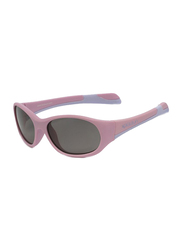Koolsun Fit Full Rim Sunglasses for Kids, Smoke Lens, 3-6 Years, Pink Lilac Chiffon