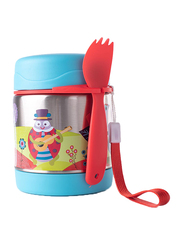 Oops Chic Cool Thermal Food Jar, Small World, Blue