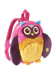 Oops My Harness Friend Backpack Bag for Babies, Owl, Multicolor