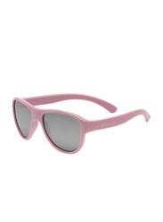 Koolsun Full Rim Air Sunglasses for Girls, Grey Lens, KS-AIBP003, 3-10 years, Blush Pink
