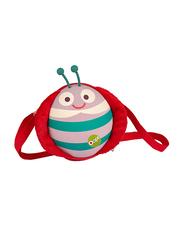 Oops My Oval Backpack Bag for Kids, Ladybug, Multicolor