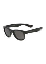Koolsun Wave Full Rim Sunglasses for Kids, Smoke Lens, 1-5 Years, Matte Black