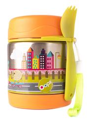 Oops Chic Cool Thermal Food Jar, City, Orange