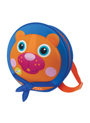 Oops My Starry Backpack Bag for Babies, Chocolat Au Lait (Bear), Blue
