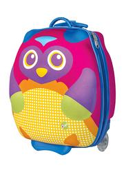 Oops Happy Trolley Bags for Babies, Mr. Wu (Owl), Multicolor