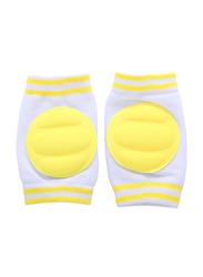 B-Safe Protective Knee Pads Unisex, Cotton, 18-24 Months, Yellow