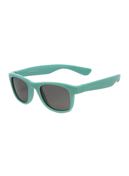 Koolsun Wave Full Rim Sunglasses for Kids, Smoke Lens, 1-5 Years, Aqua Sea