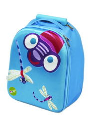Oops Easy Trolley Bag for Kids, Esme (Dragonfly), Blue