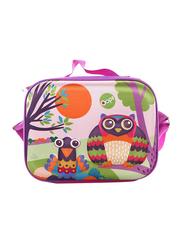 Oops Happy Snack Lunch Bag for Babies, Mr. Wu (Owl), Purple