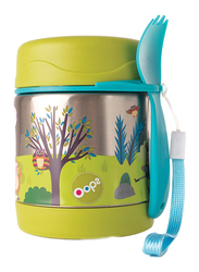 Oops Chic Cool Thermal Food Jar, Forest, Green