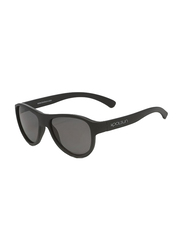 Koolsun Air Full Rim Sunglasses for Kids, Smoke Lens, 1-5 Years, Phantom Black