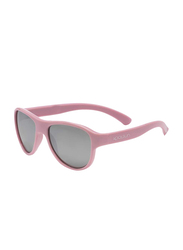 Koolsun Full Rim Air Sunglasses for Girls, Grey Lens, KS-AIBP001, 1-5 years, Blush Pink