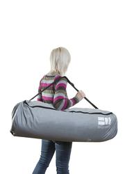 BabyHub SleepSpace Travel Cot, Pebble Grey