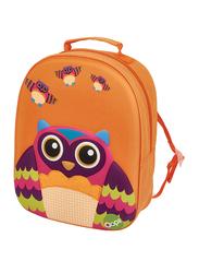 Oops Easy Trolley Bag for Kids, Mr. Wu (Owl), Orange