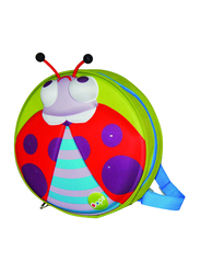 Oops My Starry Backpack Bag for Babies, Lucky (Ladybird), Green