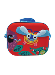 Oops Happy Snack Lunch Bag for Babies, Bee, Red