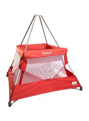 BabyHub SleepSpace Travel Cot, Ruby Red