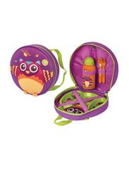 Oops Starry Meal-Set, Mr. Wu (Owl), Purple