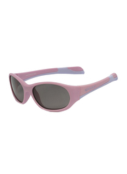 Koolsun Fit Full Rim Sunglasses for Kids, Smoke Lens, 1-3 Years, Pink Lilac Chiffon
