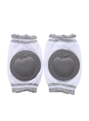 B-Safe Apple Knee Pads Unisex, Cotton, 18-24 Months, Grey
