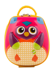 Oops Take Away Lunch Bag for Babies, Mr. Wu (Owl), Pink