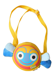 Oops My Oval Backpack Bag for Kids, Bee, Yellow/Blue