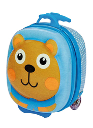 Oops Happy Trolley Bags for Babies, Chocolat Au Lait (Bear), Blue