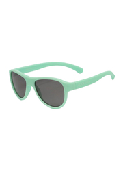 Koolsun Air Full Rim Sunglasses for Kids, Smoke Lens, 3-10 Years, Grayed Jade
