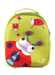 Oops Easy Trolley Bag for Kids, Lucky (Ladybug), Green