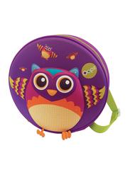 Oops My Starry Backpack Bag for Babies, Mr. Wu (Owl), Purple