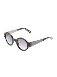 Lanvin Full Rim Round Sunglasses for Unisex, Purple Lens, SLN512S-46-700, 46/24/145
