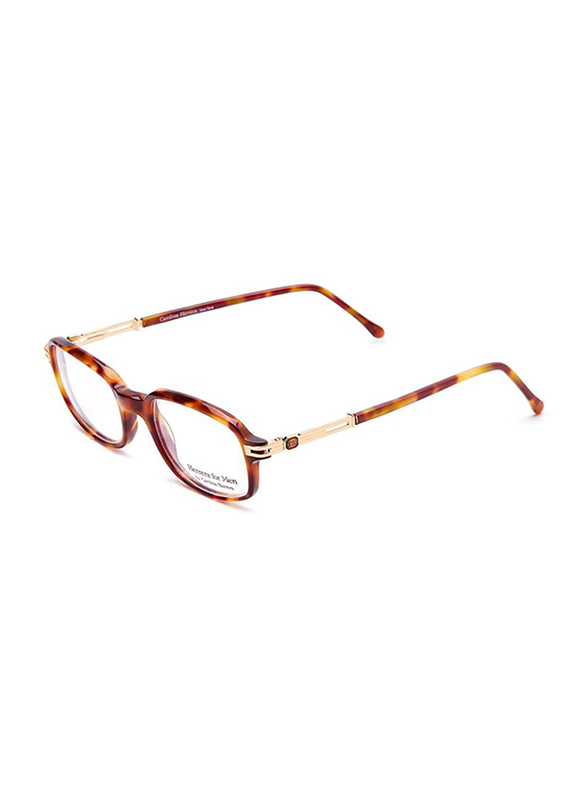 Carolina Herrera Full Rim Rectangular Reading Glasses for Men, Clear Lens, CH601-CA550, 50/19/140