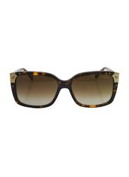 Lanvin Full Rim Square Sunglasses for Unisex, Brown Lens, SLN504-57-722, 57/16/140
