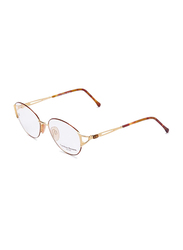 Carolina Herrera Full Rim Cat Eye Reading Glasses Unisex, Clear Lens, CH711-GP605, 55/17/130