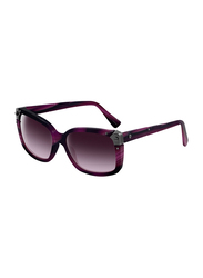 Lanvin Full Rim Square Sunglasses for Unisex, Purple Lens, SLN504-57-J89, 57/16/140