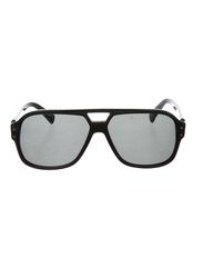 Lanvin Full Rim Pilot Sunglasses for Women, Grey Lens, SLN507-58-700, 58/13/140