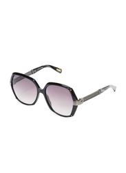 Lanvin Full Rim Butterfly Sunglasses for Women, Purple Lens, SLN549-57-700, 57/18/140
