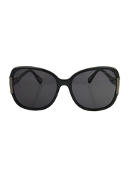 Lanvin Full Rim Butterfly Sunglasses for Women, Grey Lens, SLN508S-60-Z42, 60/17/130